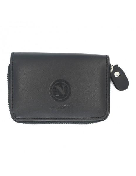 BLACK SSC NAPLES BELL-SHAPED CARD HOLDER