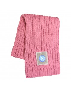 SSC NAPOLI PINK SCARF