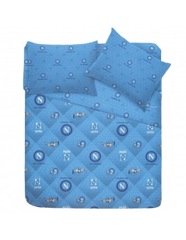 QUILT DOUBLE BED WITH LOGOS AND DONKEY