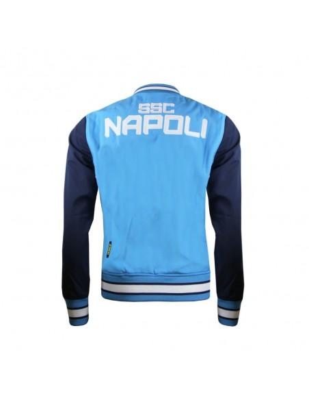 OFFICIAL SSC NAPOLI LIGHT BLUE JACKET
