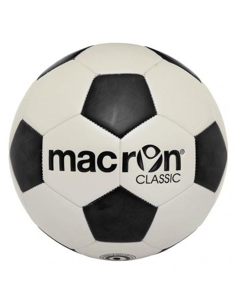 MACRON CLASSIC BALL WHITE BLACK