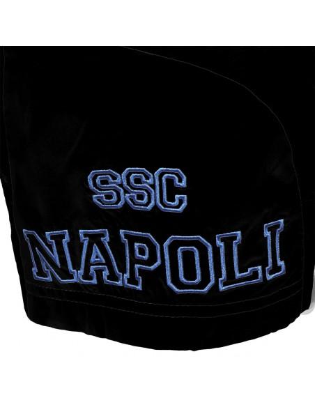 KIDS SSC NAPOLI BLACK REPRESENTATIVE SHORT 2015/2016