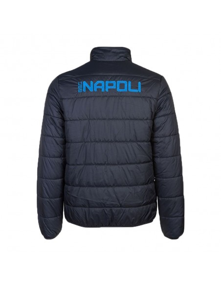 SSC NAPOLI BLUE PADDED JACKET 2018/2019