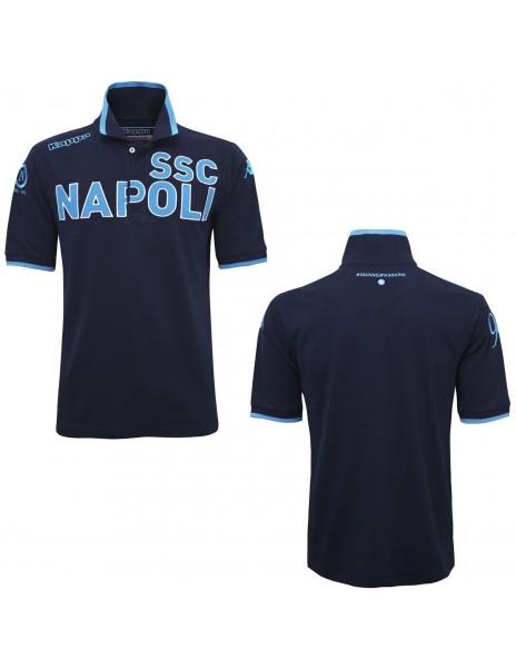 SSC NAPOLI POLO BLUE ANNIVERSARY