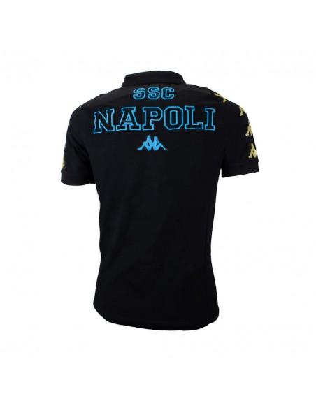 POLO NAPOLI TEAM BLACK/GOLD
