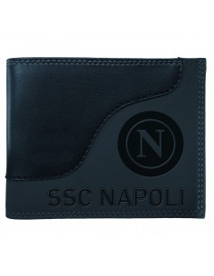 NAPOLI GRAY WALLET IN LEATHER