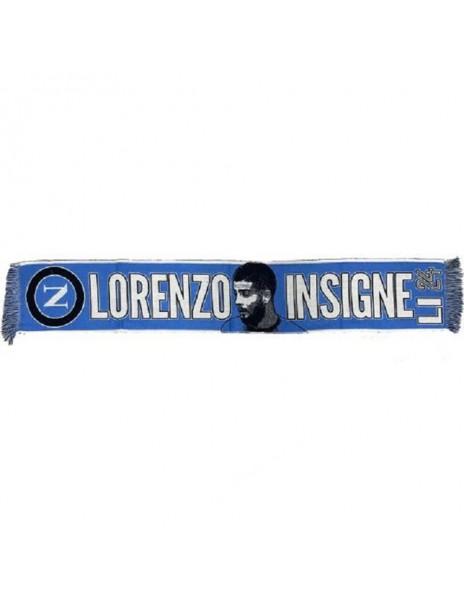 LIGHT BLUE SCARF LORENZO INSIGNE SSC NAPOLI