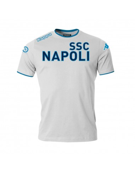 T-SHIRT ANNIVERSARIO BIANCA  SSC NAPOLI