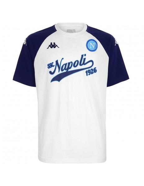 SSC NAPOLI T-SHIRT BASEBALL 1926  WHITE
