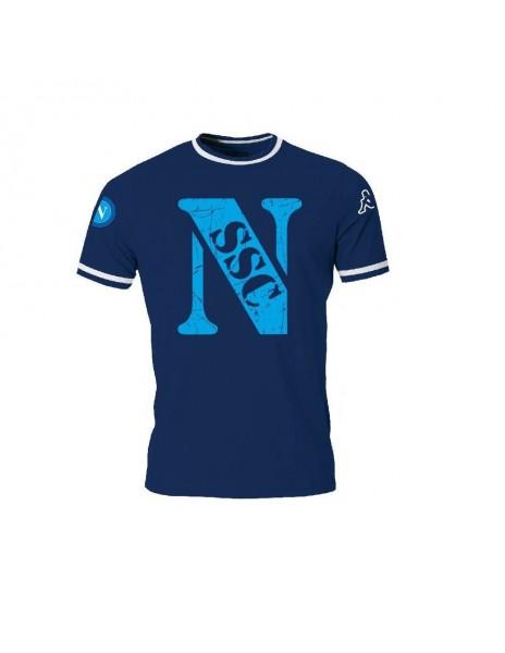 SSC NAPOLI BLUE T-SHIRT KID 2015/2016