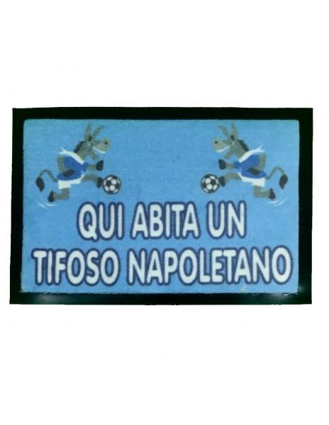 TAPPETO TIFOSO SSC NAPOLI