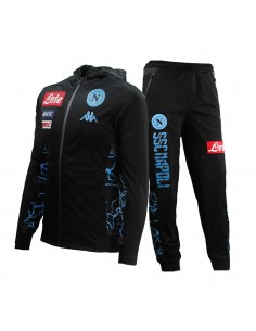SSC NAPOLI ACETATE HOODED CAMO DISTRICT TRACKSUIT FOR KIDS 19/20