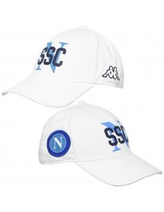 SSCN WHITE KAPPA HAT