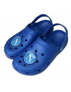 SSC NAPOLI BLUE CLOGS