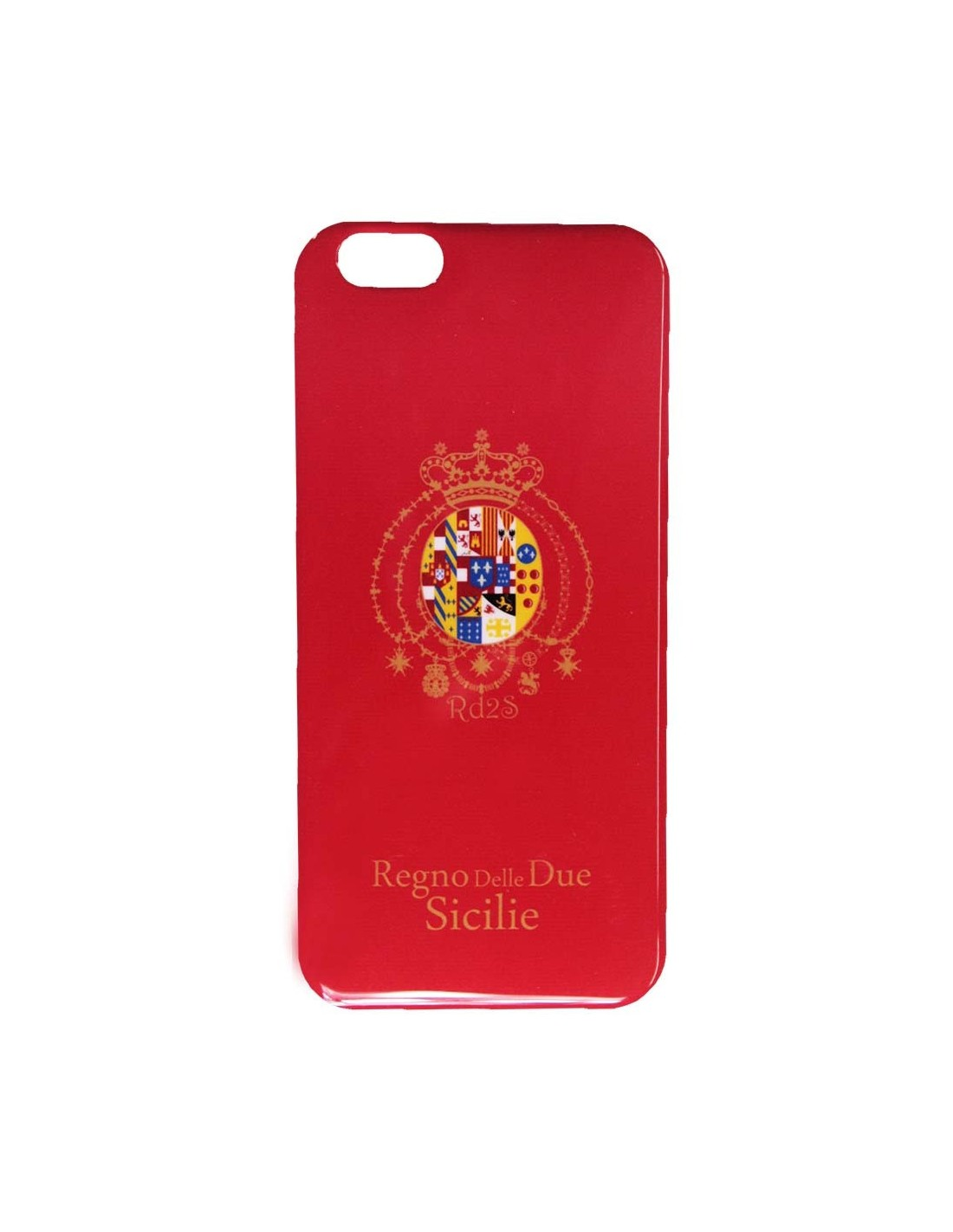 SSC NAPOLI RED COVER BADGE BOURBON FOR IPHONE 5 / 5S 6 6 PLUS GALAXY S4 S5 S6 S6 EDGE