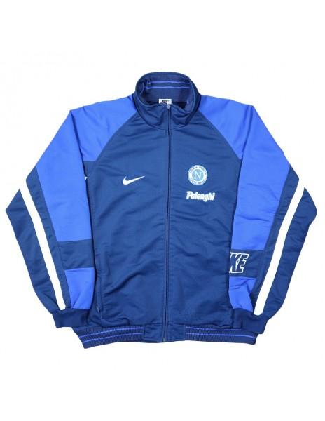 1997-99 BLUE NAPOLI NIKE POLENGHI JACKET