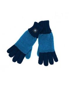SSC NAPOLI BLUE/LIGHT BLUE GLOVES
