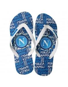 SSC NAPOLI LIGHT BLUE FORZA NAPOLI FLIP FLOP