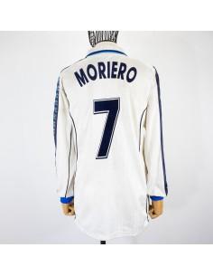 NAPOLI AWAY JERSEY MORIERO 7 DIADORA LS 2000/2001