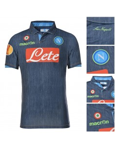 AWAY JERSEY BLUE JEANS EUROPA 2014 2015 KID