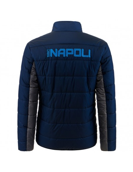 SSC NAPOLI BLUE KIDS PADDED JACKET 2020