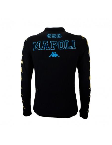 POLO NAPOLI BLACK TEAM LONG SLEEVE