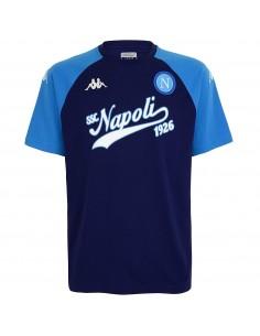 SSC NAPOLI T-SHIRT BASEBALL 1926  BLUE