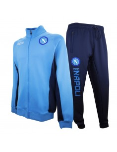 NAPOLI TRAINING WOVEN LIGHT BLUE TRACKSUIT 2017/2018