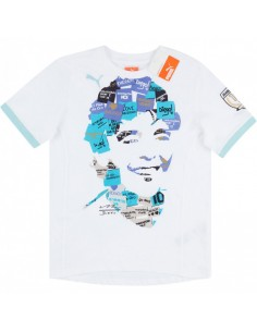 PUMA KING GRAPHIC TEE WHITE KIDS T-SHIRT
