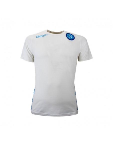 SSC NAPOLI STAFF WHITE T-SHIRT