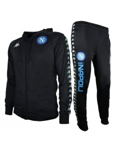 SSC NAPOLI HOODED TRACKSUIT BAND 222 2018/2019