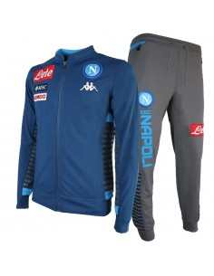 SSC NAPOLI TRACKSUIT FLEECE BLUE 19/20