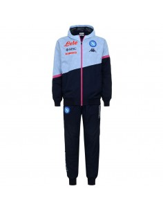 2020/2021 NAPOLI HOODED TRACKSUIT BLUE