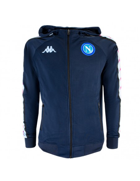 2020/2021 NAPOLI EUROPA HOODED TRACKSUIT BLUE FOR KIDS