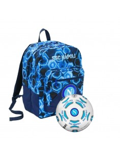 NAPLES SEVEN SCHOOL BACKPACK WITH BALLOON