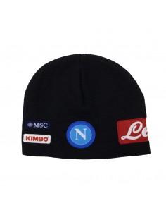 SSC NAPOLI BLACK WOOL HAT...