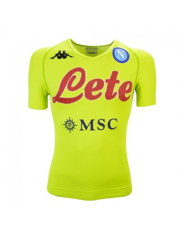 SSC NAPOLI TRAINING JERSEY GREEN FLUO...