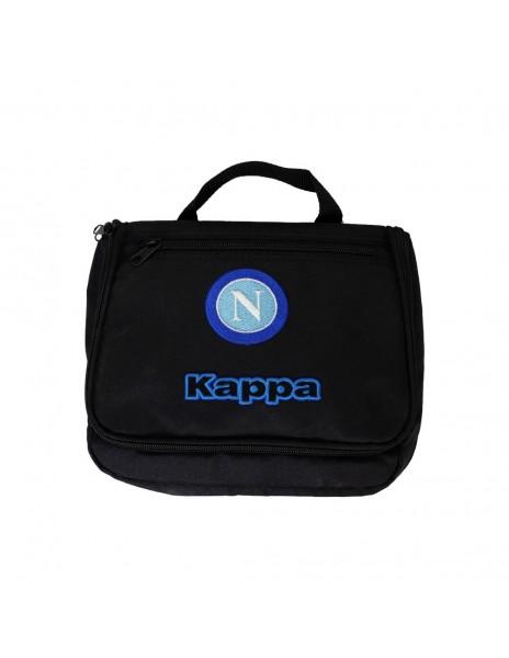 SSC NAPOLI BLACK LUNCH BOX KAPPA